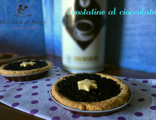 Crostatine al cioccolato |  Ricetta senza uova