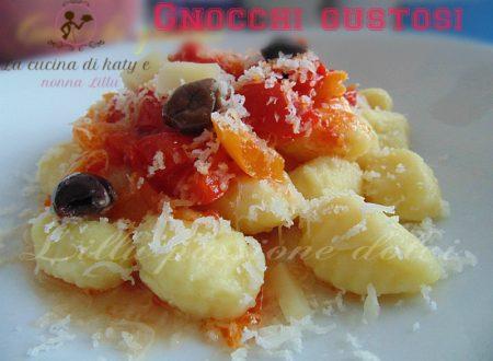 Gnocchi gustosi  |  Primi piatti