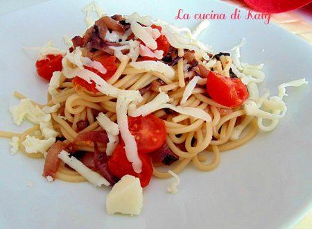 Pasta trevisana e cacioricotta | Ricetta facile