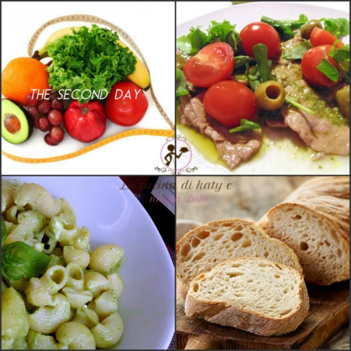 dieta giorno 2 pranzo