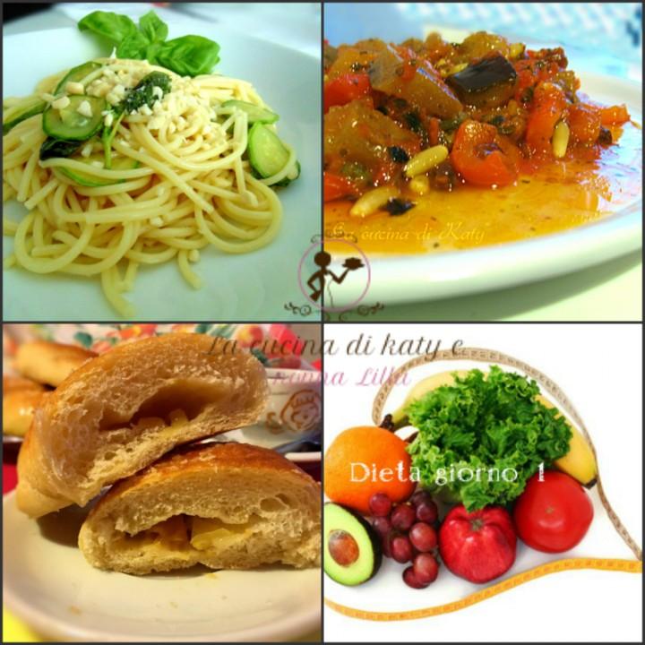 stile di vita sano dieta giorno 1