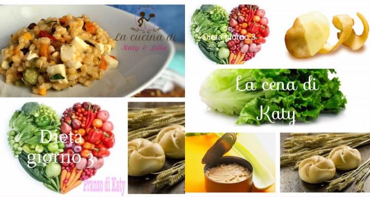 dieta giorno 3 collage