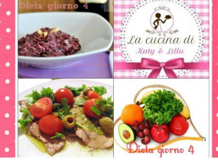 Dieta giorno 4  |  Stile di vita