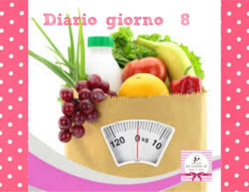 La mia dieta facile  – Diario giorno  8 – Stile di vita