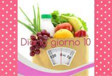 La mia dieta facile diario giorno 10 – stile di vita sano