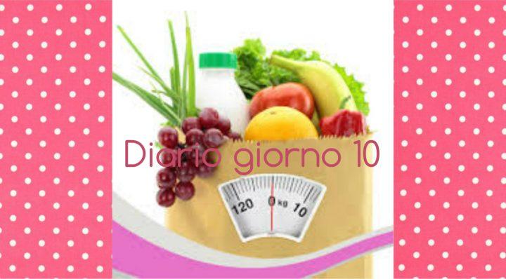 dieta facile diario giorno 10