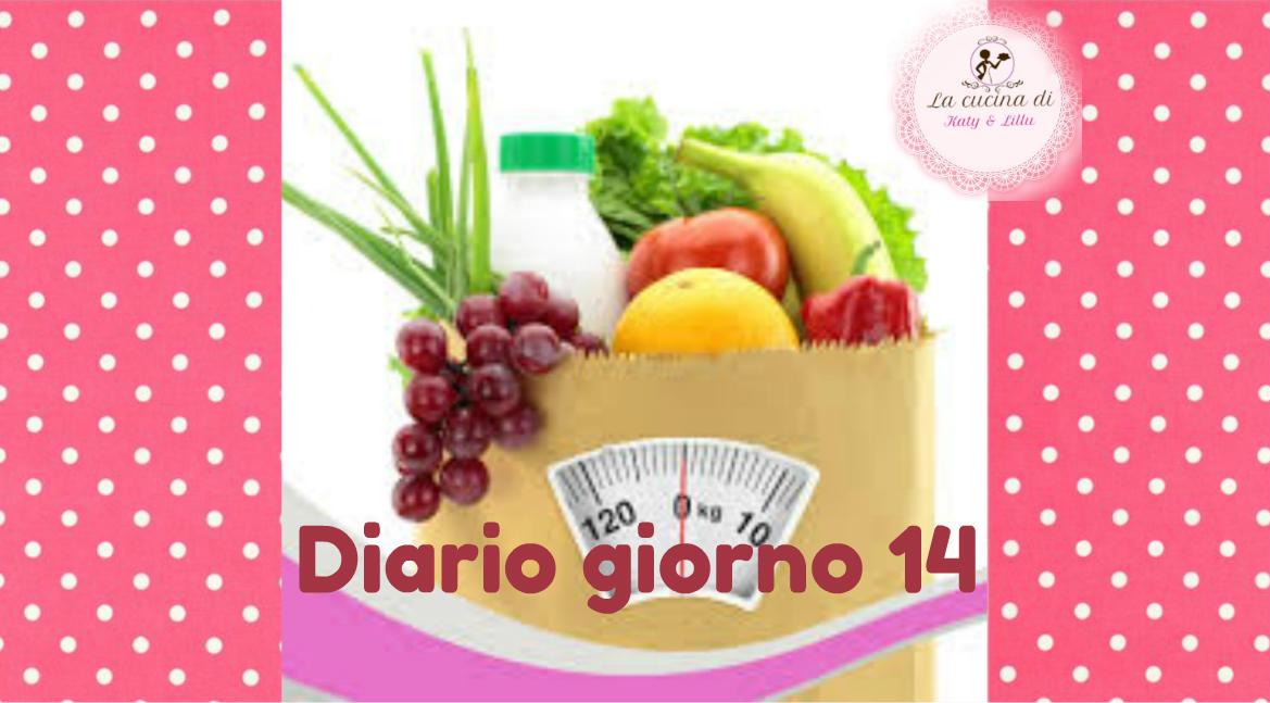 dieta facile diario giorno 14