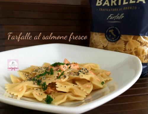 Farfalle al salmone fresco Quomi.it – Servizio di ricette a domicilio