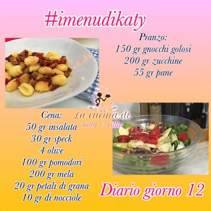 dieta facile diario giorno 12