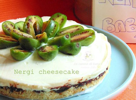 Cheesecake ai nergi – Babykiwi – Ricetta dolce