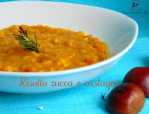 Risotto castagne e zucca  | Ricetta autunnale