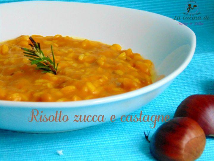 risotto castagne e zucca