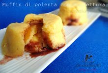 Tortine di polenta con marmellata    Ricetta dolce e leggera