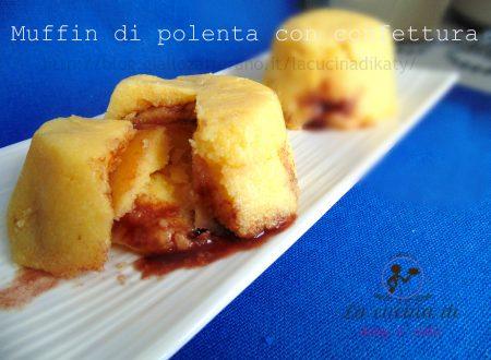 Tortine di polenta con marmellata |  Ricetta dolce e leggera