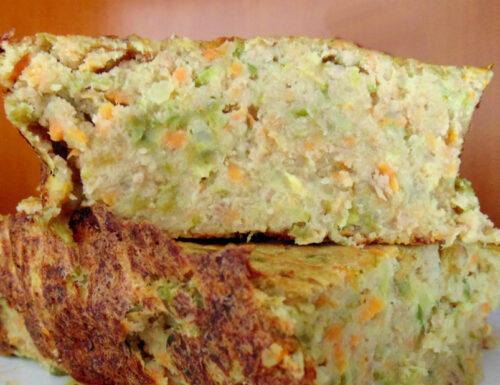 Polpettone di verdura ricetta ligure
