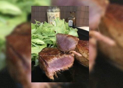 Filetto di maiale al miele di rododendro e aceto balsamico