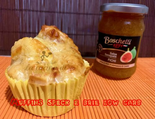 Muffin speck e brie low carb