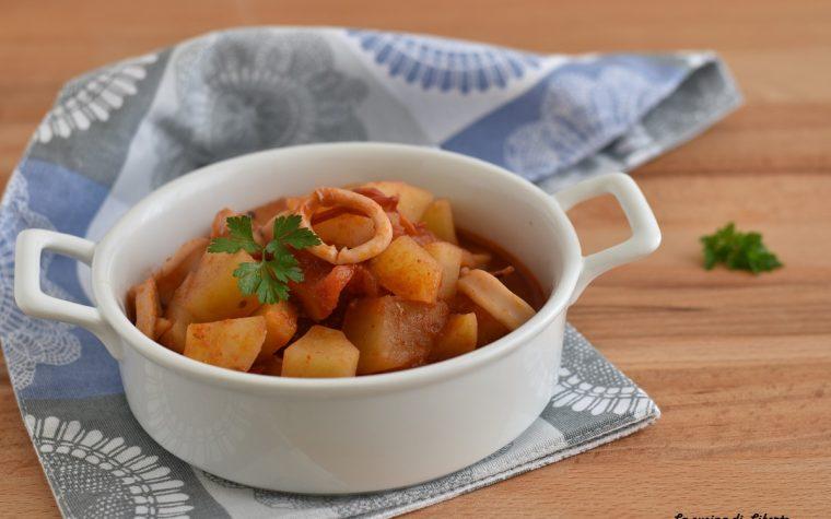 Spezzatino di totani e patate