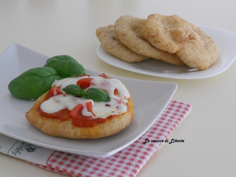 Pizzette semi integrali fritte