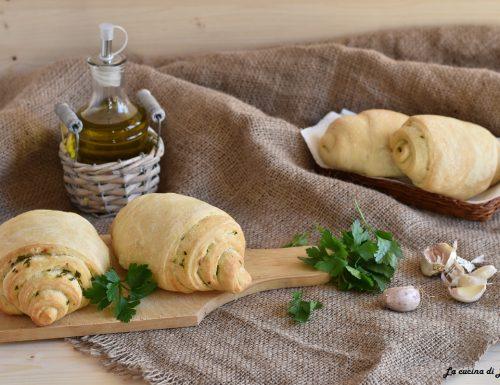 Panini morbidi con olio ed aglio