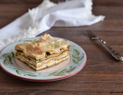 Lasagne con ricotta e spinaci