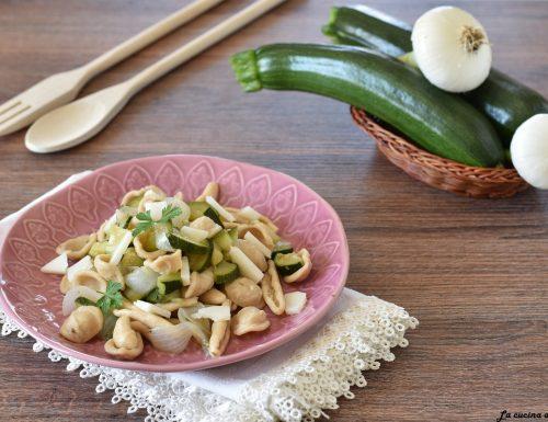 Maritati pugliesi con zucchine e cipollotti