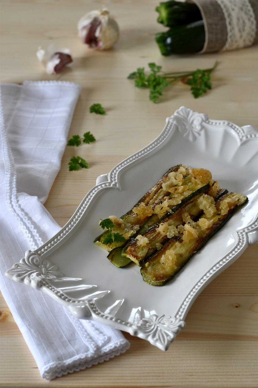 Zucchine gratinate al forno d