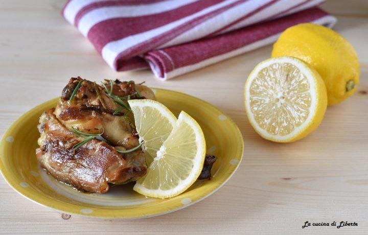Pollo al limone ricetta in padella