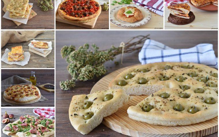 Ricette per pizze e focacce lievitate