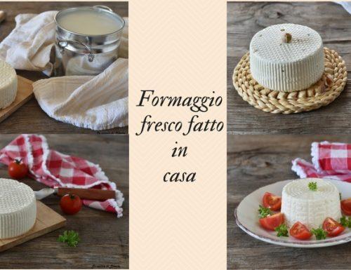 Ricette formaggio fresco fatto in casa