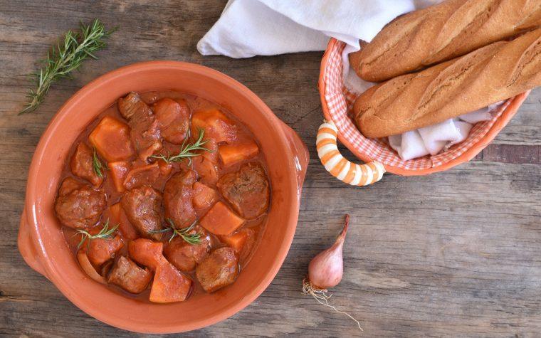 Ricetta spezzatino con patate e scalogno