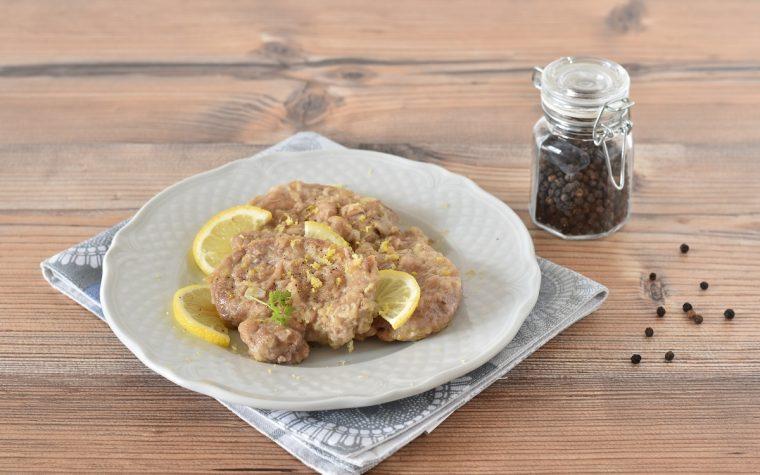 Filetto di maiale al limone