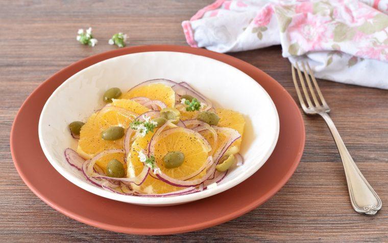 Insalata di arance e cipolle