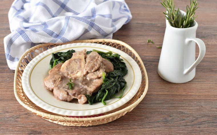 Ossobuco ricetta semplice con spinaci
