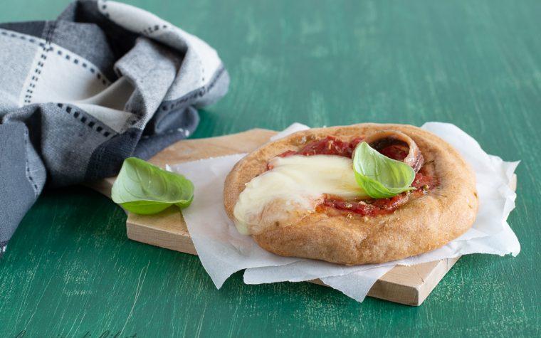 Pizzette integrali al forno