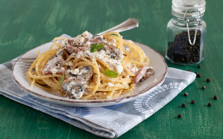 Spaghetti ai funghi