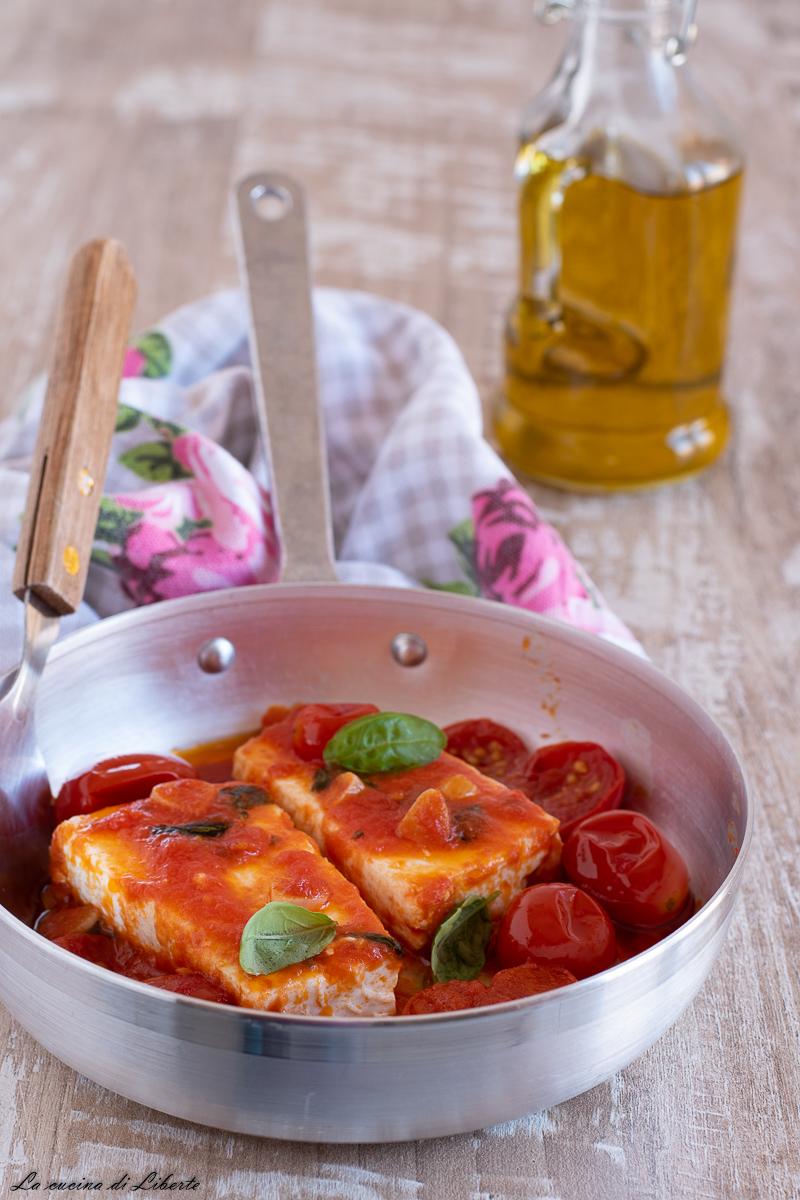 Ricotta in padella con pomodorini d