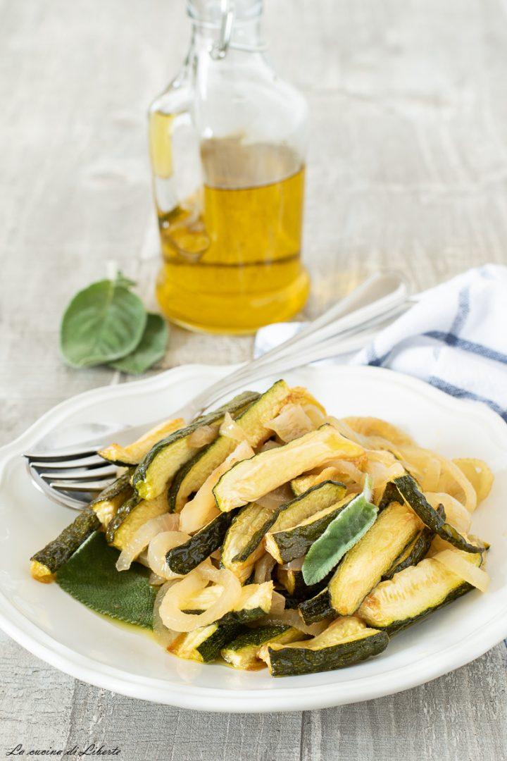Zucchine in carpione d