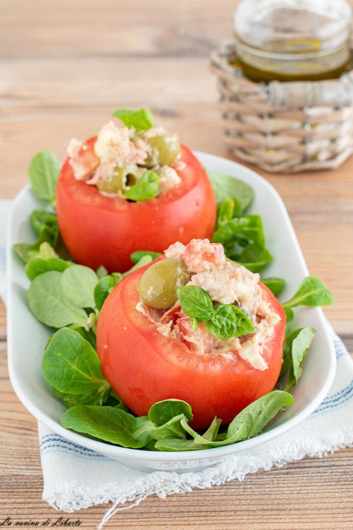 Pomodori ripieni di tonno d
