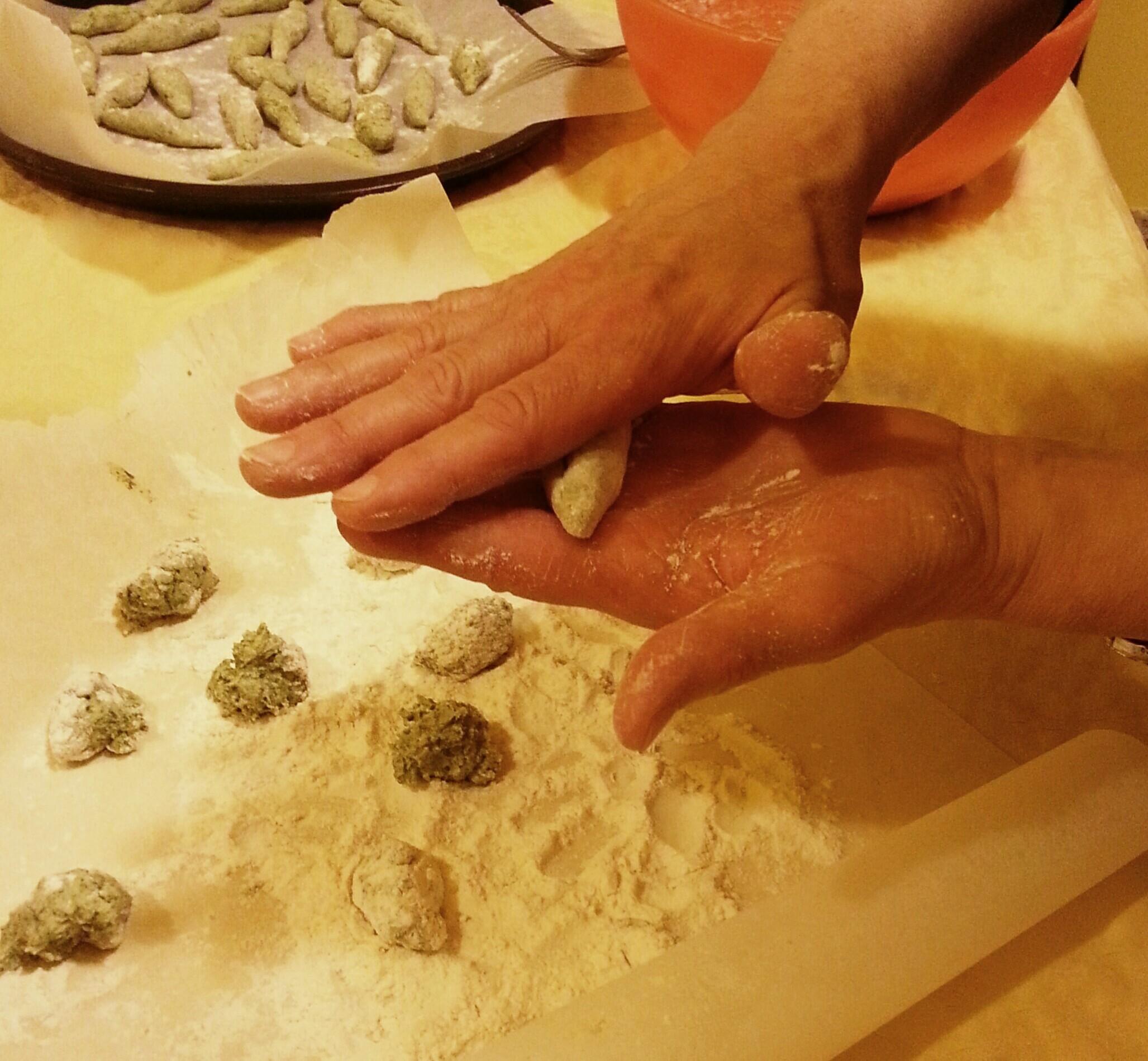 """""""Pinlòn"""" di ricotta e spinaci"""