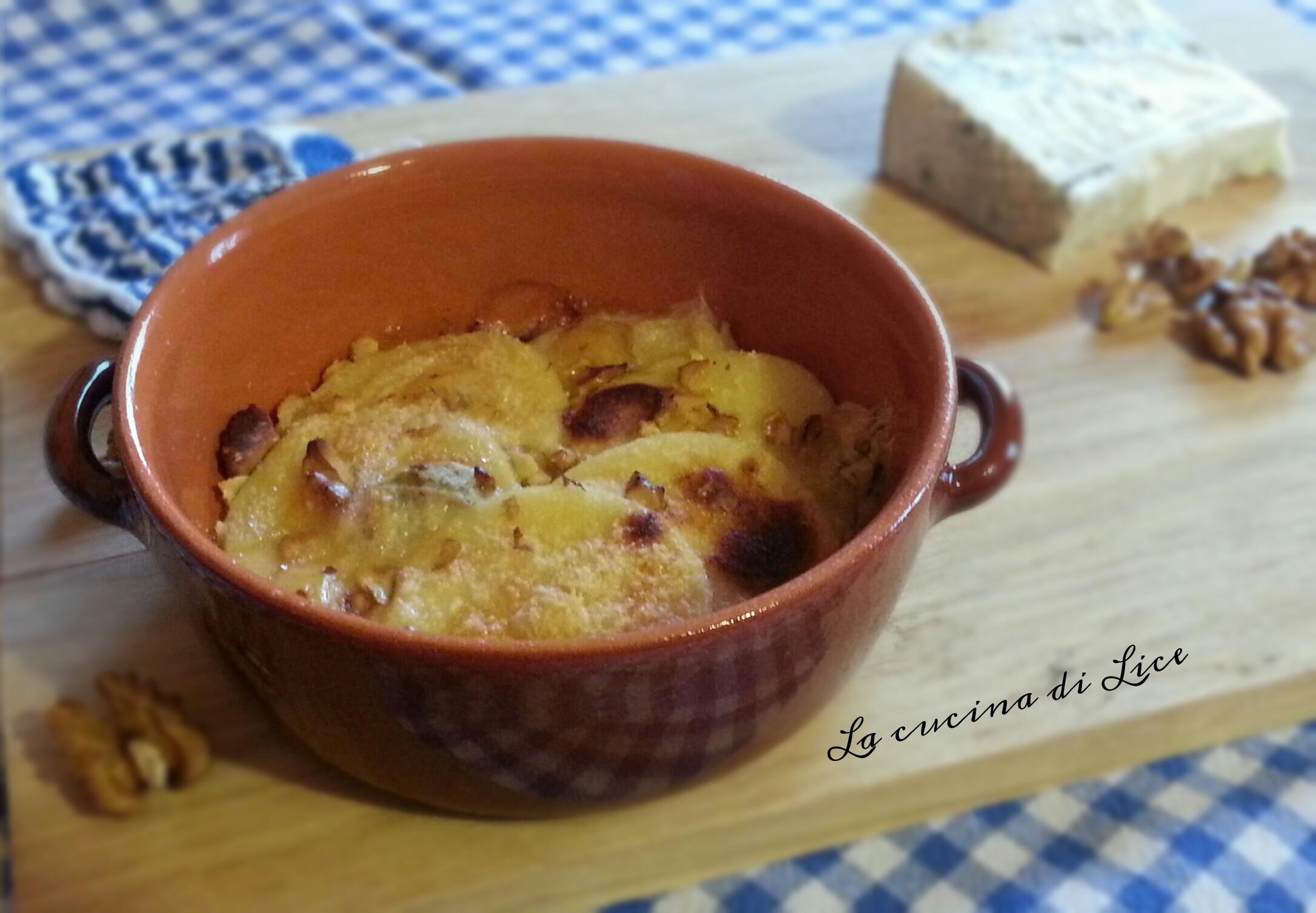 Gnocchi alla romana con gorgonzola e noci