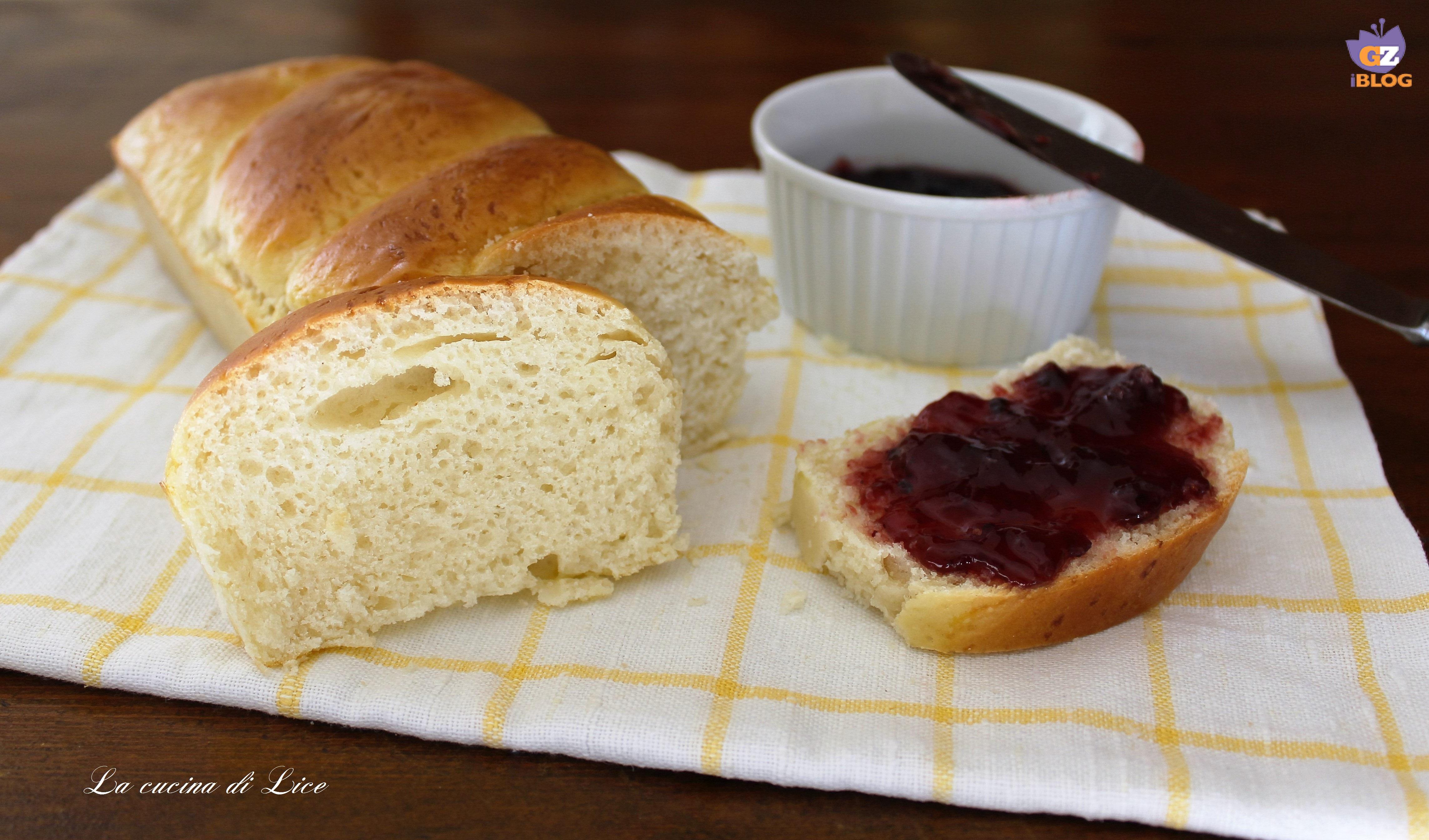 Pane morbido per la colazione