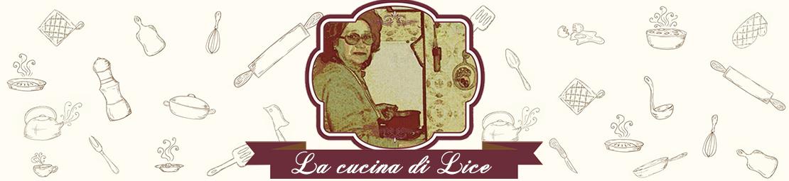 La cucina di Lice
