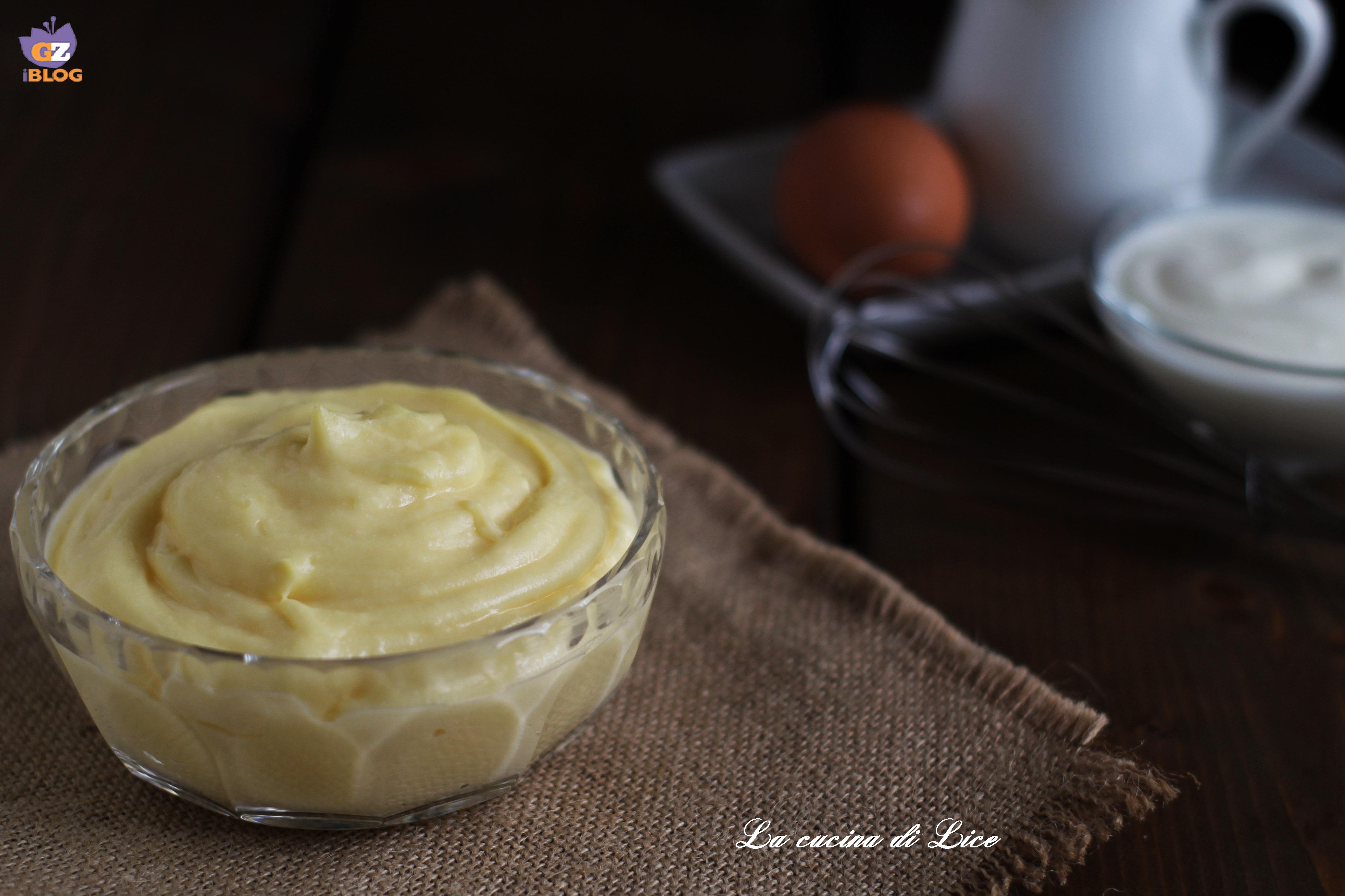 Ricetta Crema Pasticcera Allo Yogurt.Crema Pasticcera Allo Yogurt Al Microonde