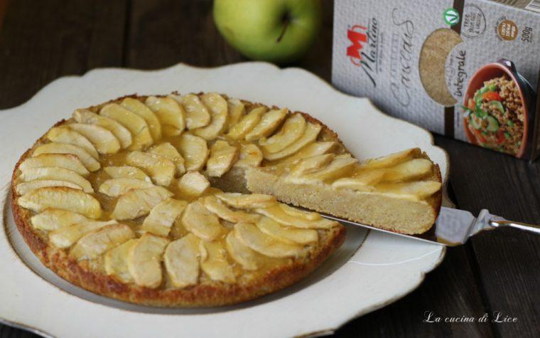 Torta di couscous alle mele