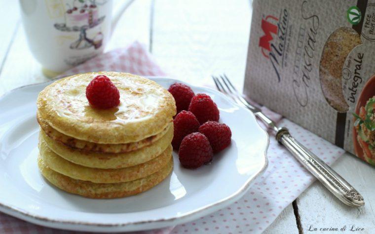 Pancake di couscous