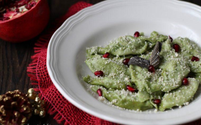 Tortelli piacentini verdi