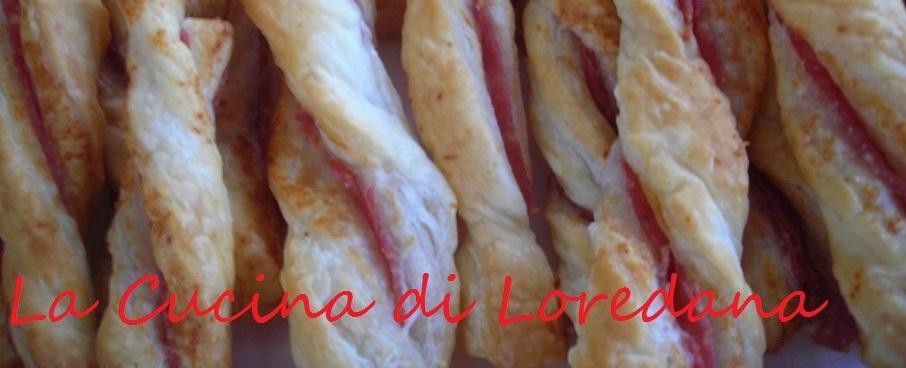 Grissini di pasta sfoglia ripieni la cucina di loredana - La cucina di loredana ...