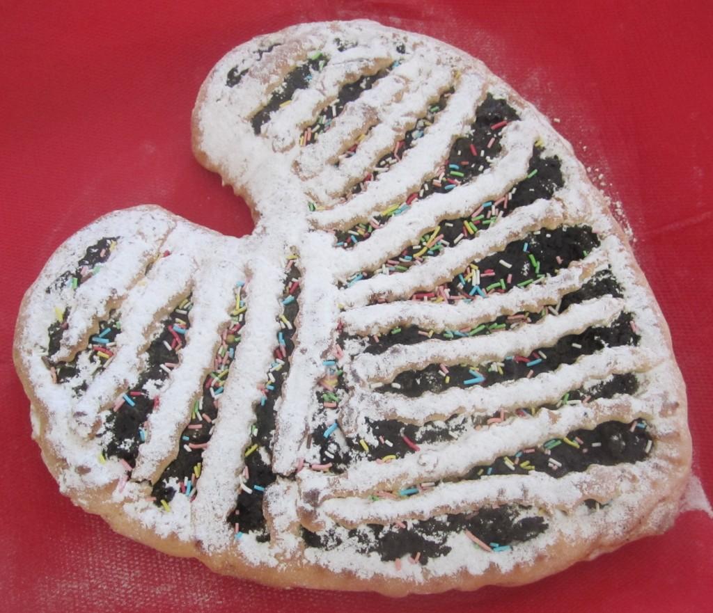 un cuore di pastafrolla