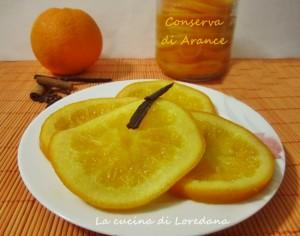 conserva di arance